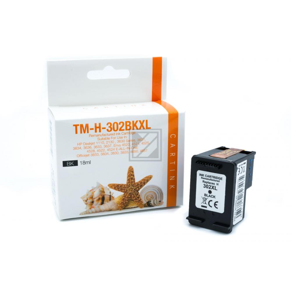 Refill Tinte Black für HP / F6U68AE / 18ml (EU)
