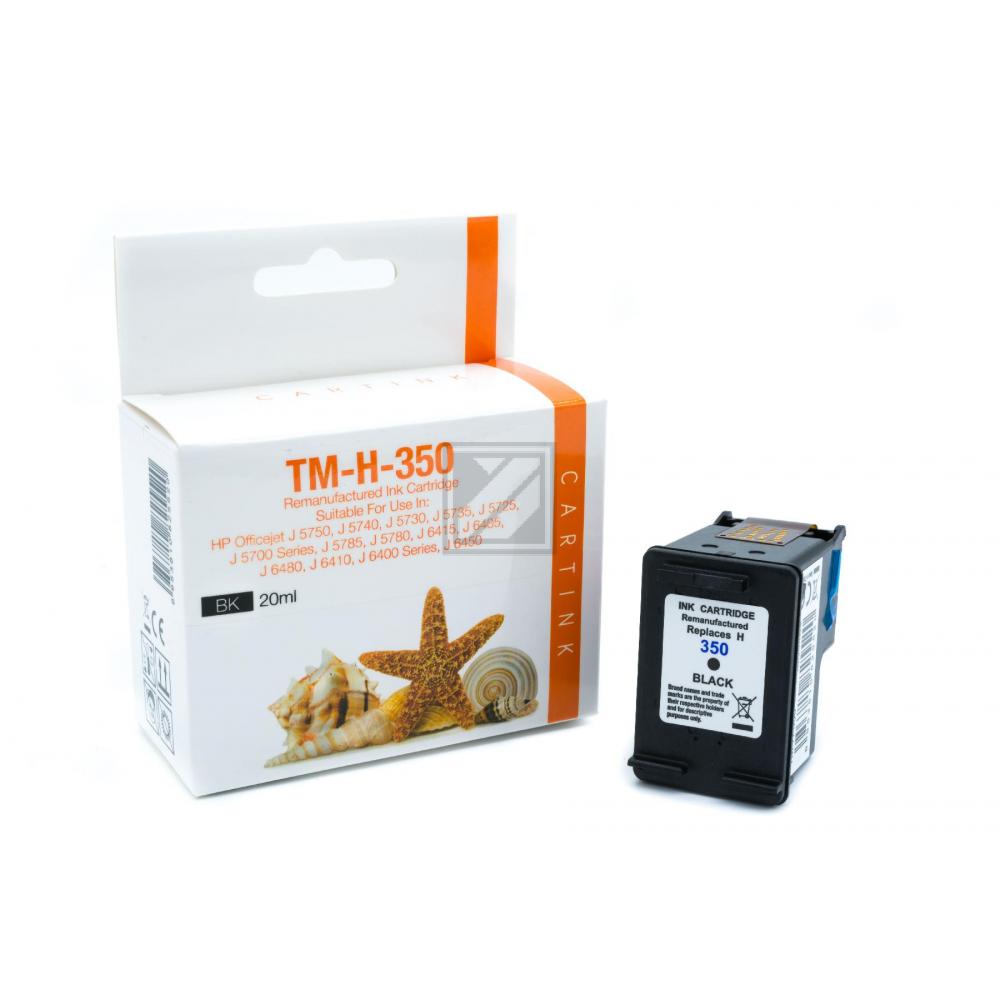 Refill Tinte Black für HP / CB335EE / 20ml