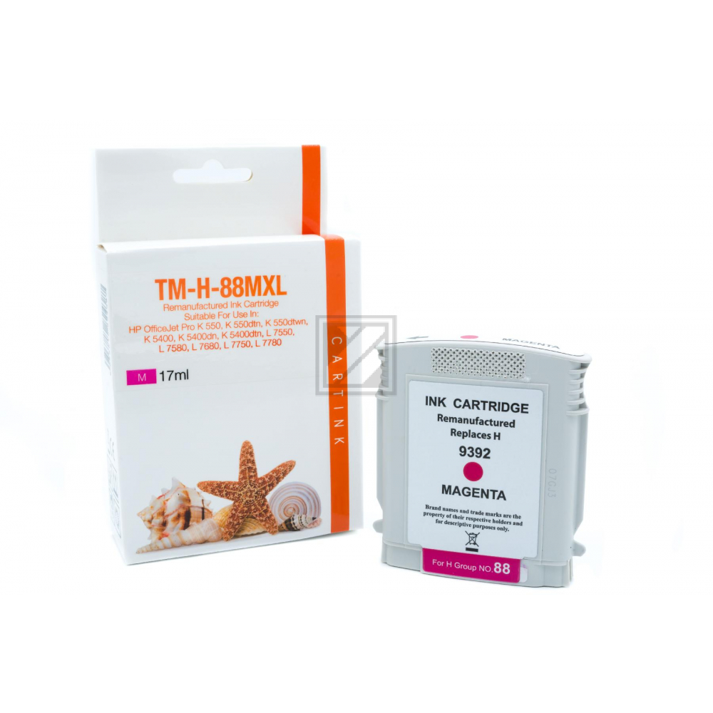 Refill Tinte Magenta für HP / C9392A / 17ml