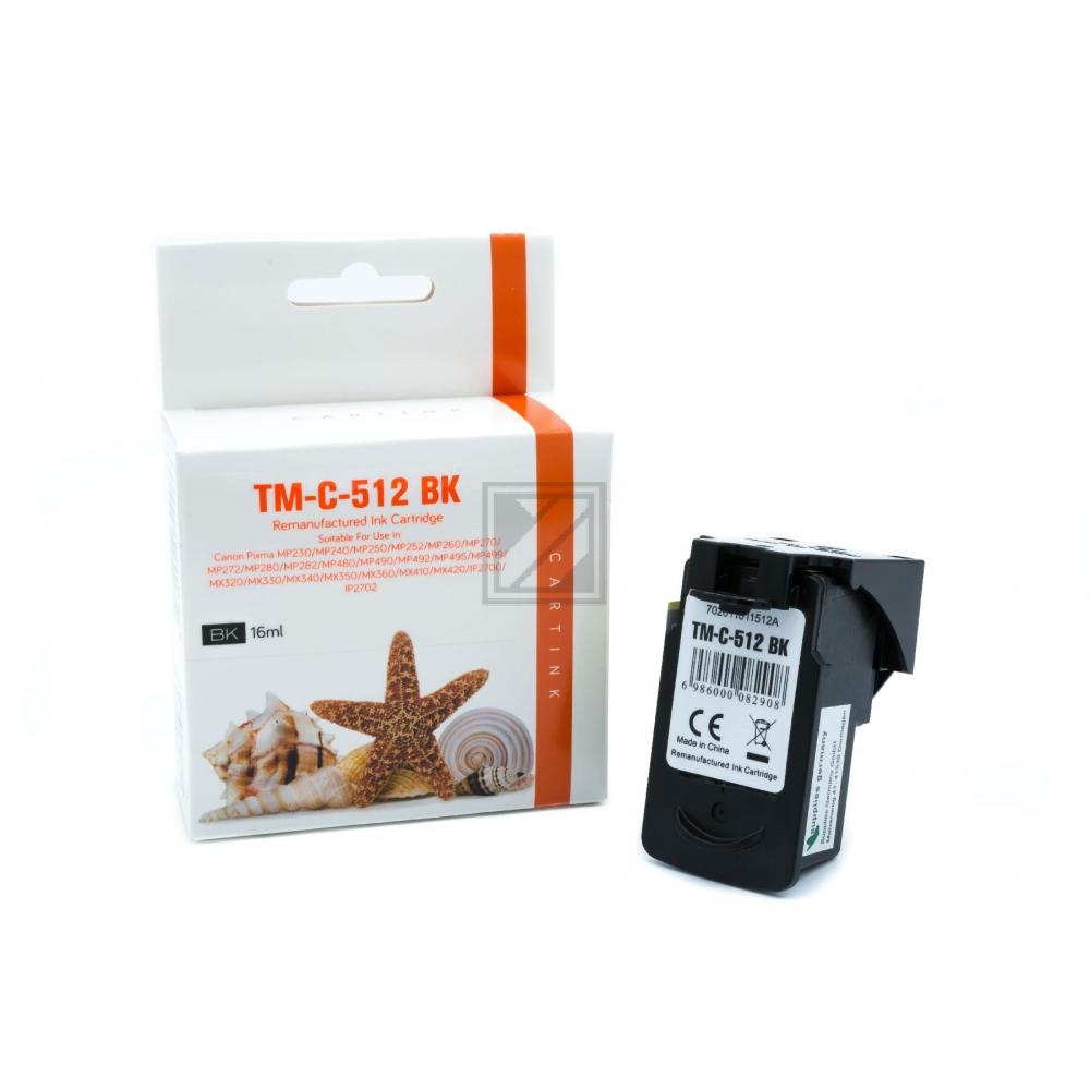 Refill Tinte Black für Canon / 2969B001 / 16ml