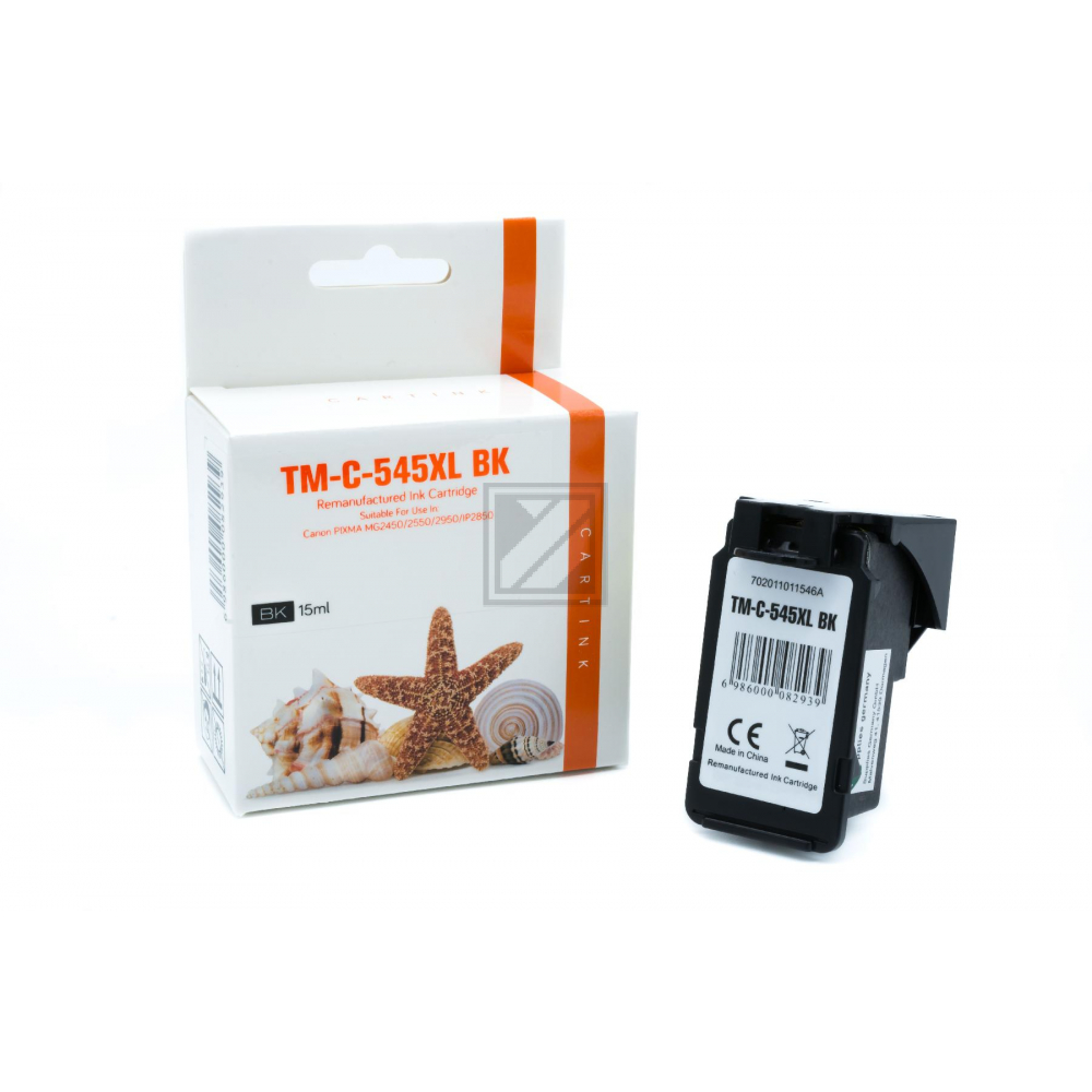 Refill Tinte Black für Canon / 8286B001 / 15ml