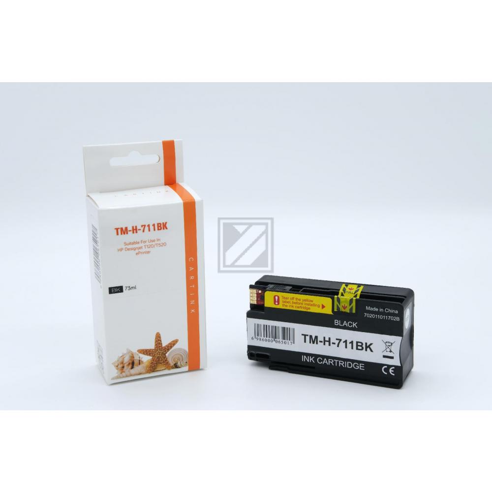 Refill Tinte Black für HP / CZ133A / 80ml