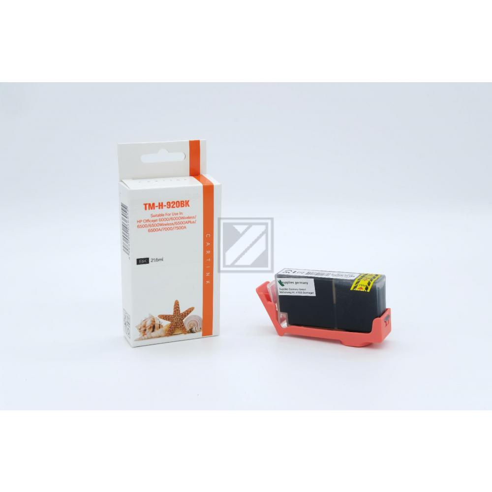 Refill Tinte Black für HP / CD975AE / 21,6ml