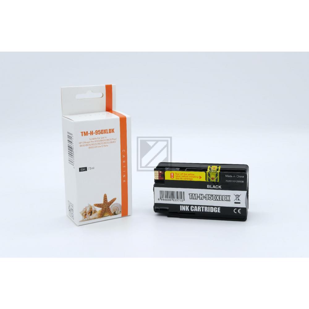 Refill Tinte Black für HP / CN045AE / 73ml