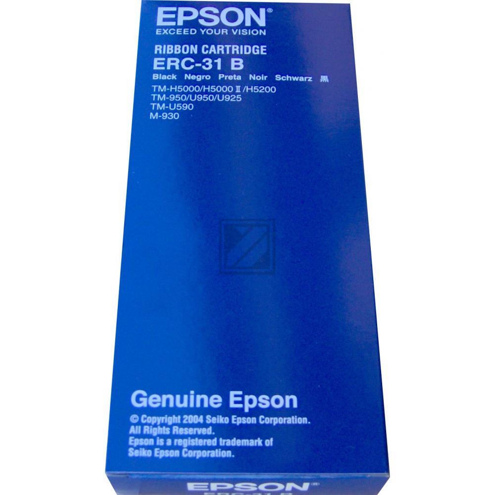 EPSON ERC31B KASSEN FARBBAND SCHWARZ C43S015369(neu)