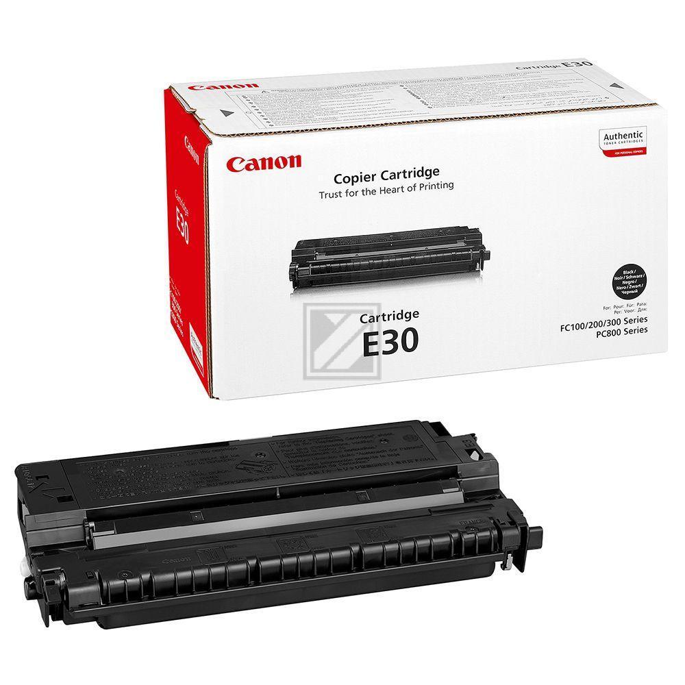 CANON E30 | 4000 Seiten, CANON Tonerkassette, schwarz