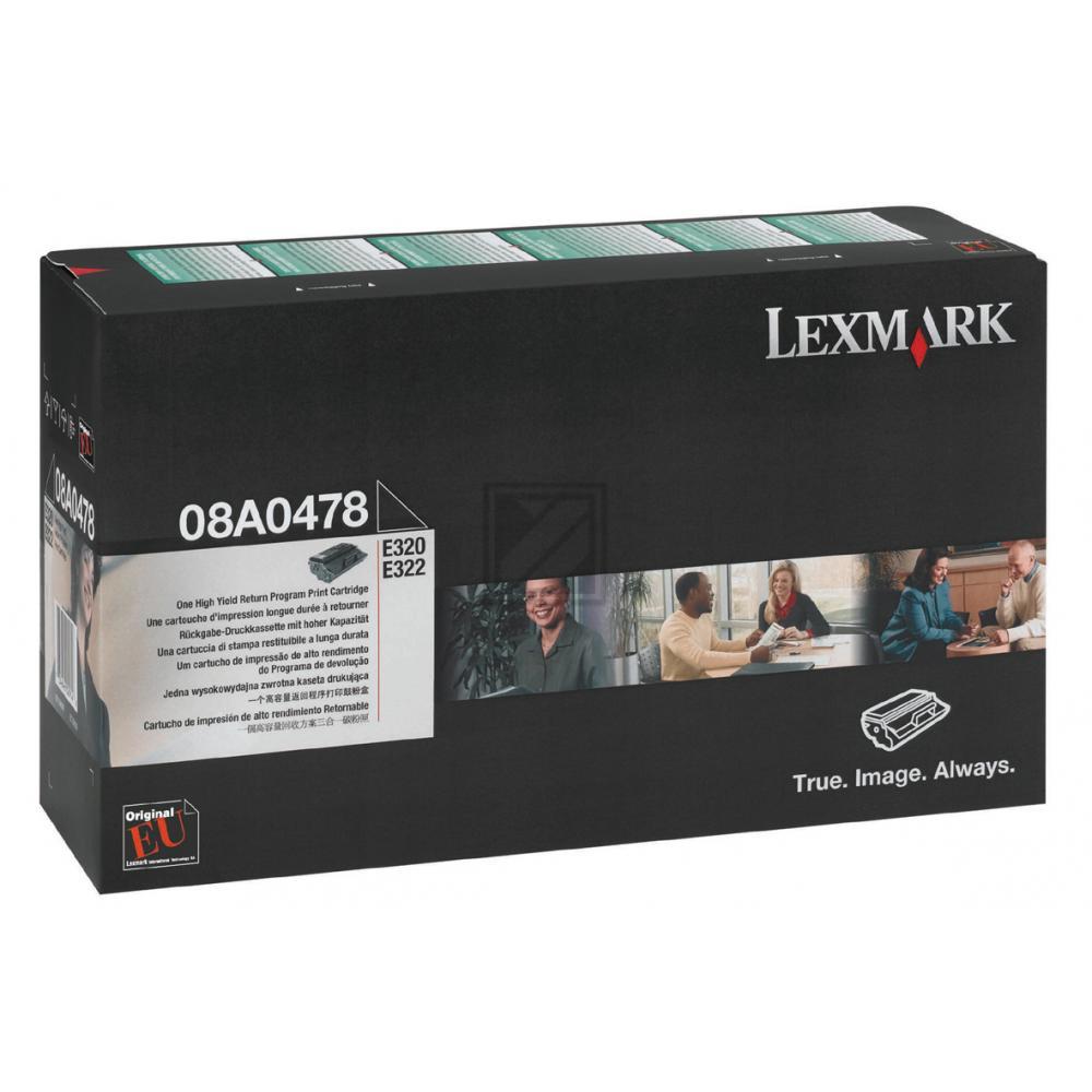 LEXMARK E320/322 Prebate DRUCKKASSETTE (6000), Kapazität: 6000