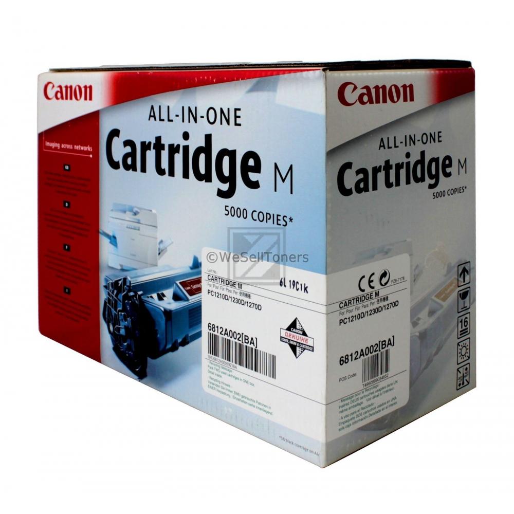 CANON PC1210D/1230D/1270D M-CARTRIDGE  #6812A002, Kapazität: 3000