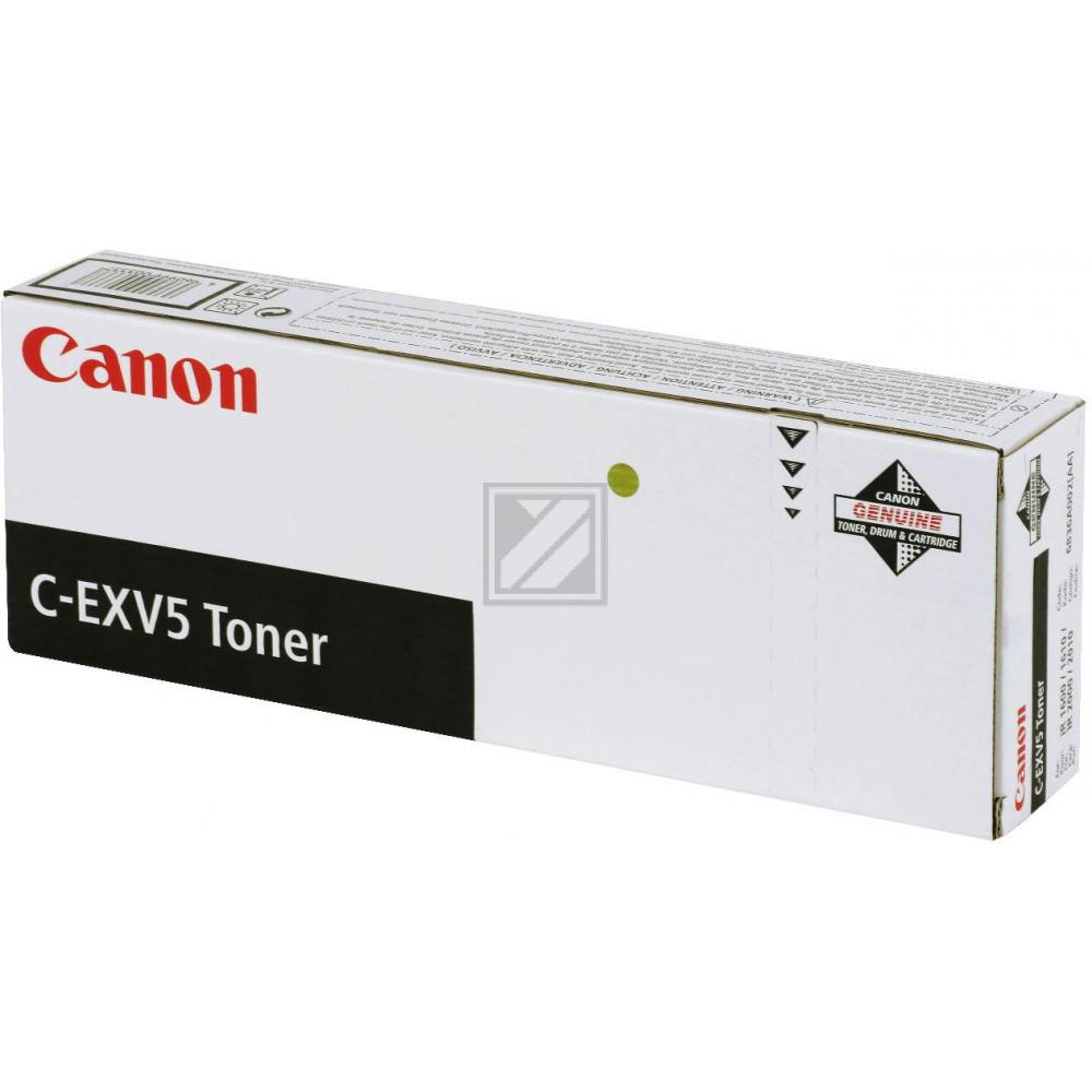 CANON IR1600 TONER (2x440GR) IR1610/2000/2010 #6836A002 C-EXV5, Kapazität: 2X 7.8