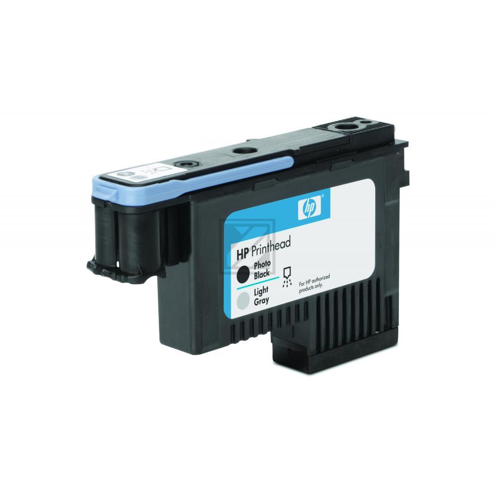 HP 91, HP Druckkopf, photo schwarz und grau light