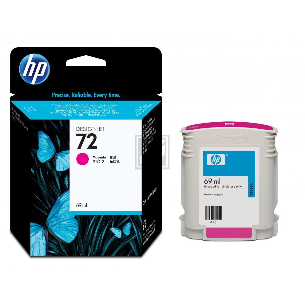 HP 72   69ml, HP Tintenpatrone, magenta