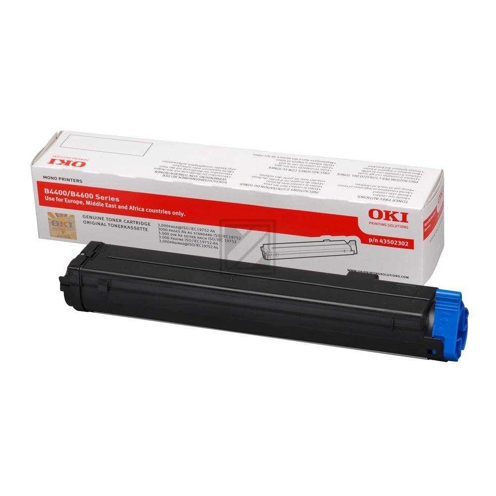 OKI Toner-Kit schwarz (43502302)