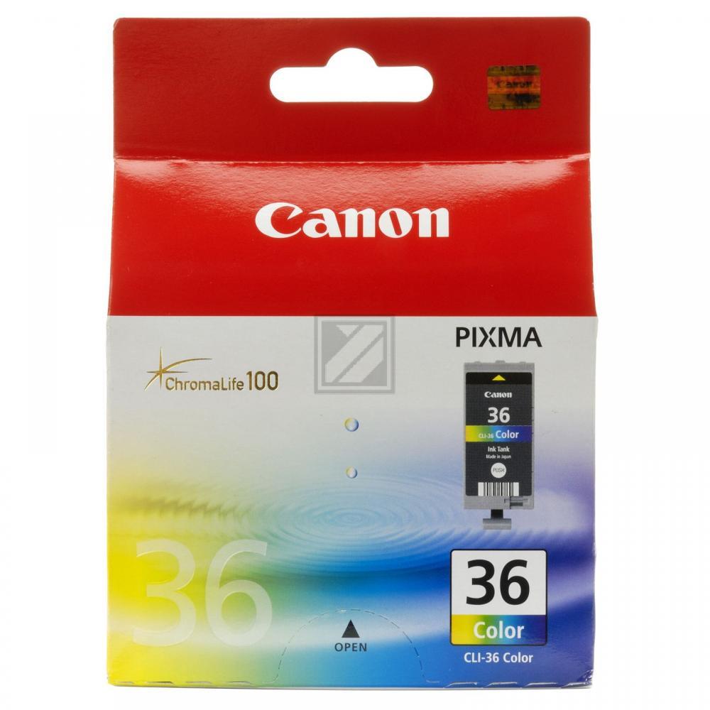 Canon Tintenpatrone 3-farbig (1511B001, CLI-36)