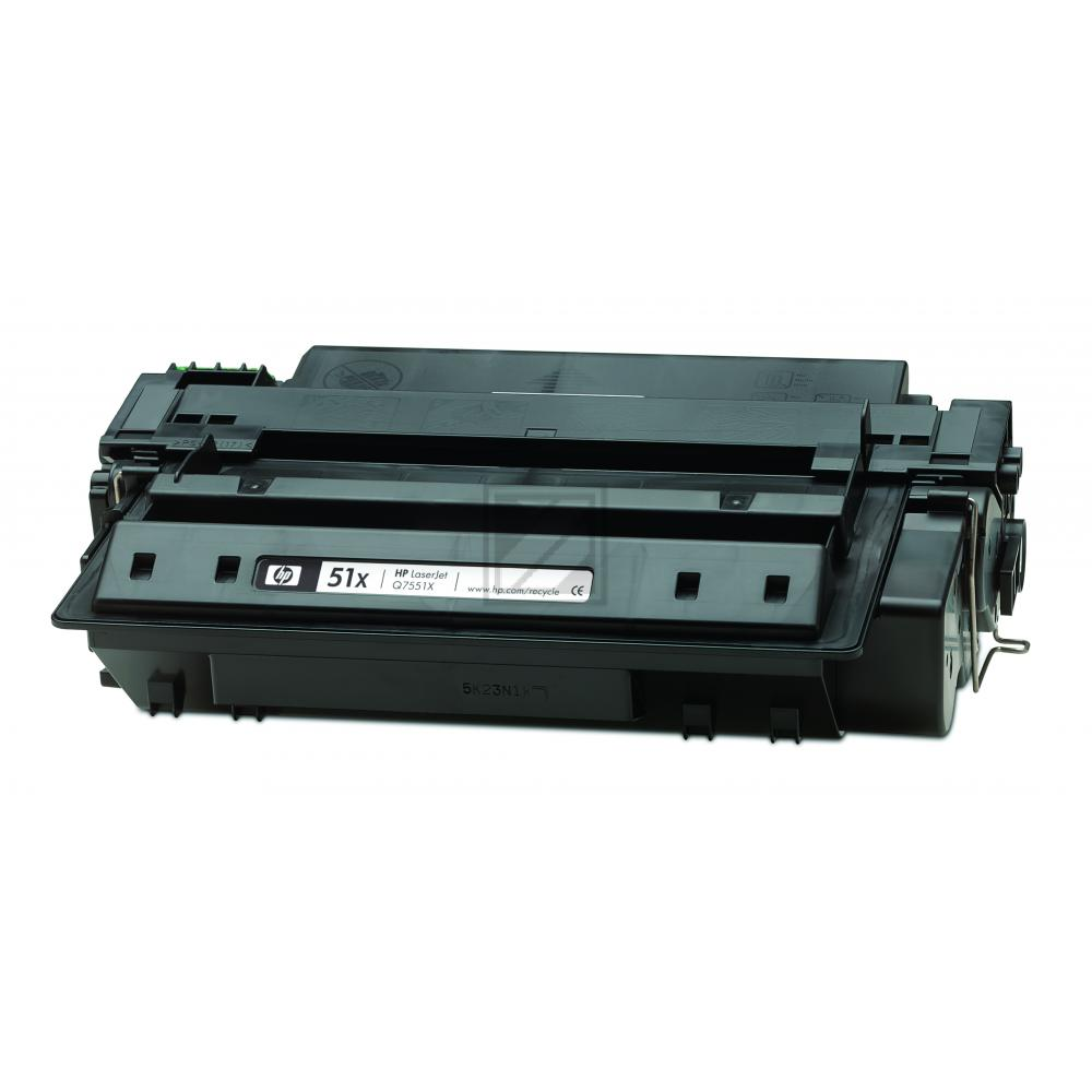 Original HP Q7551X / 51X Toner Schwarz XXL