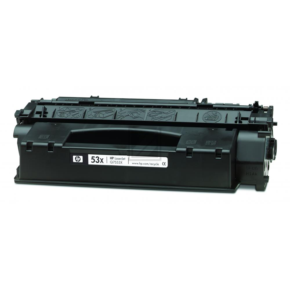 HP 53X | 7000 Seiten, HP Tonerkassette, schwarz