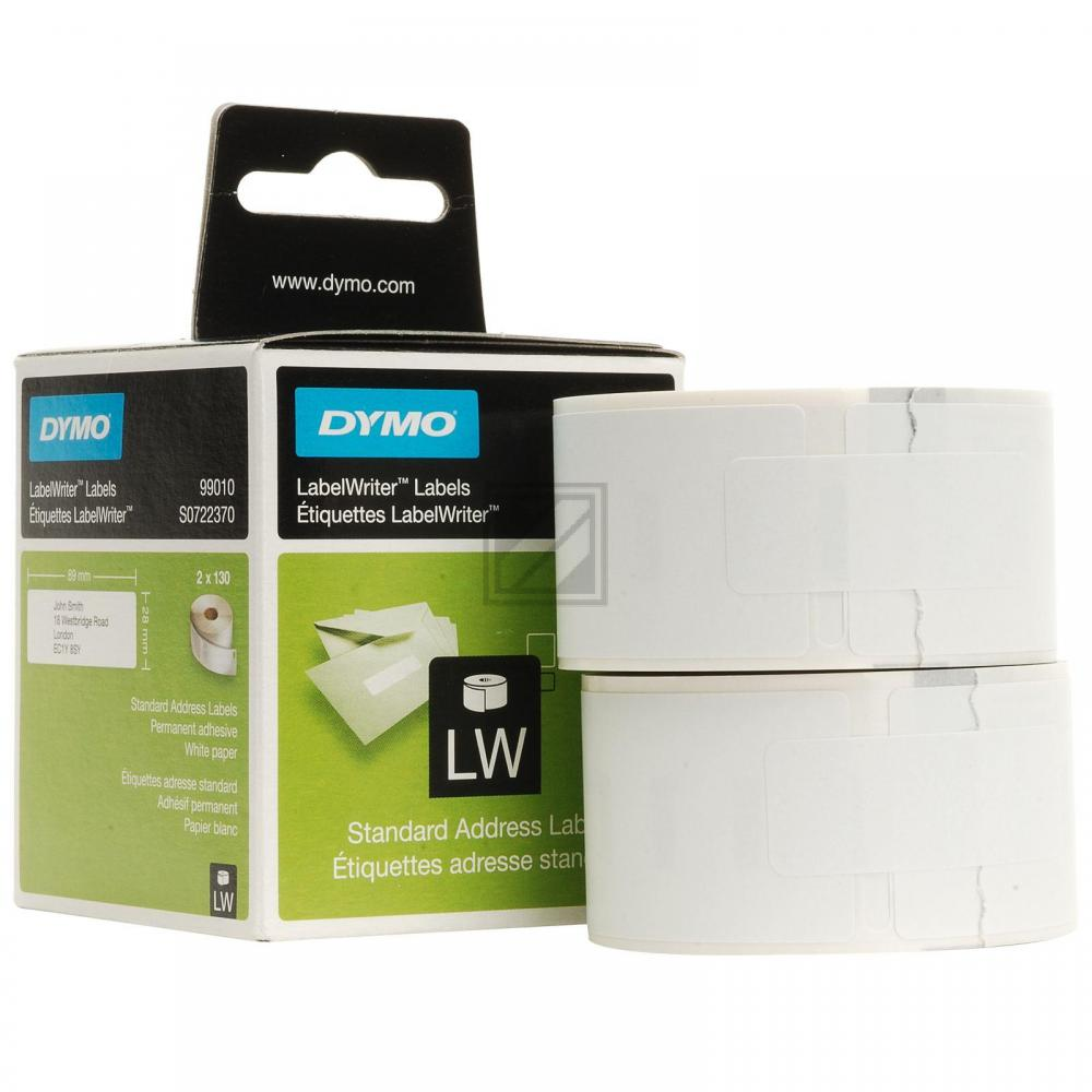 Dymo Adress-Etiketten (weiß) (S0722370)
