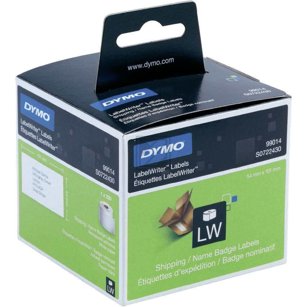 Dymo Versand-Etiketten 1 X 220 weiß (S0722430)