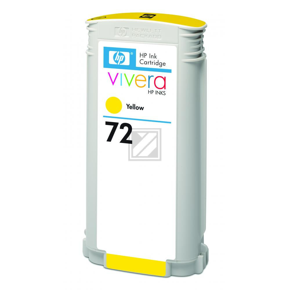 HP 72 | 130ml, HP Tintenpatrone, gelb