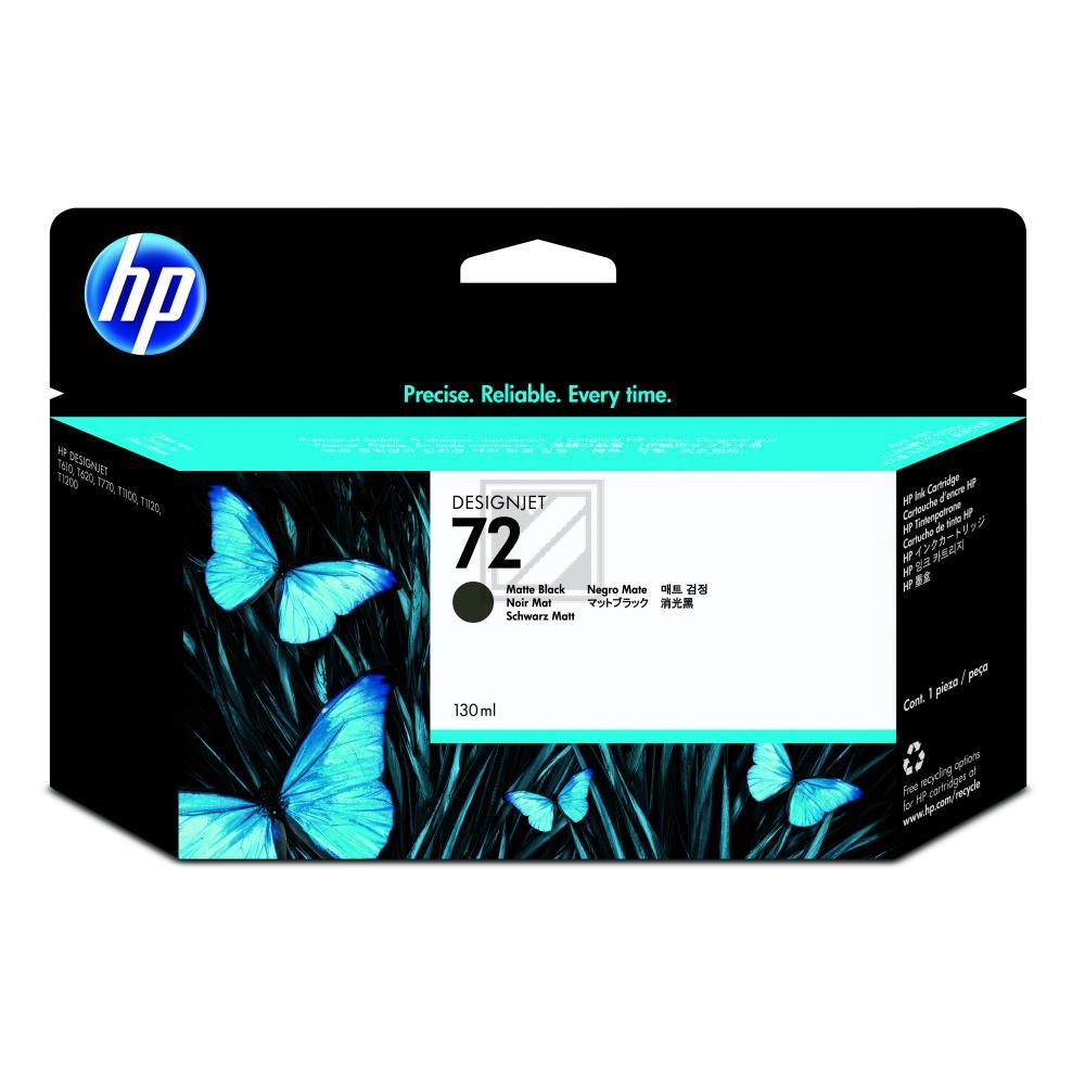Original HP C9403A / 72 Tinte schwarz matt
