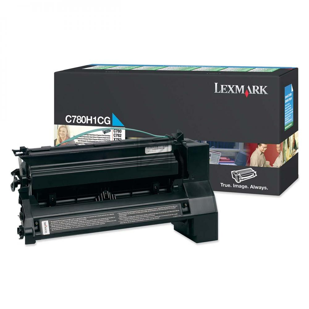 LEXMARK C780H1CG | 10000 Seiten, LEXMARK Tonerkassette, cyan