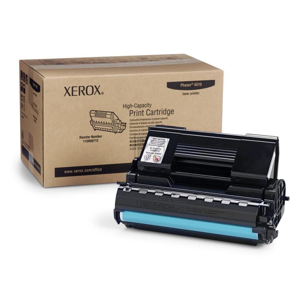 XEROX 113R00712 | 19000 Seiten, XEROX Tonerkassette mit hoher Reichweite, schwarz