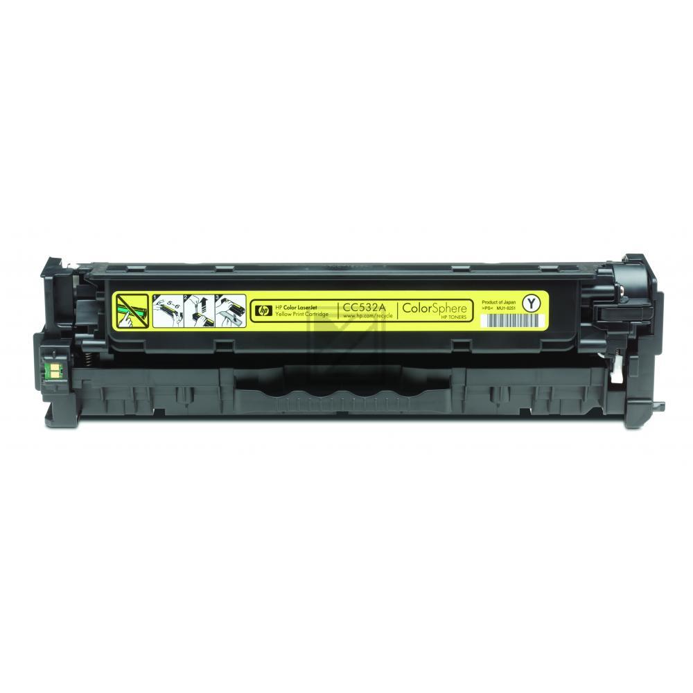 HP Toner-Kartusche gelb (CC532A, 304A)