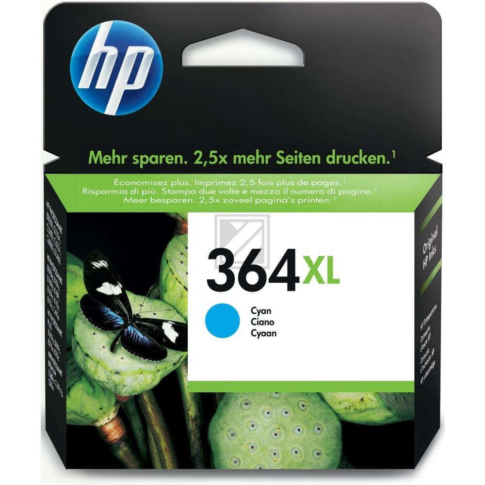 HP Tintenpatrone cyan HC (CB323EE, 364XL)