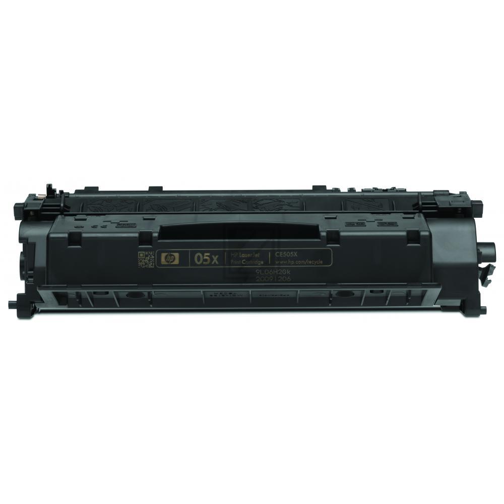 HP Toner-Kartusche schwarz HC (CE505X, 05X)