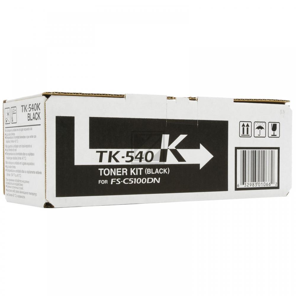 BUSINESS TK540K | 4000 Seiten, BUSINESS Tonerkassette, schwarz