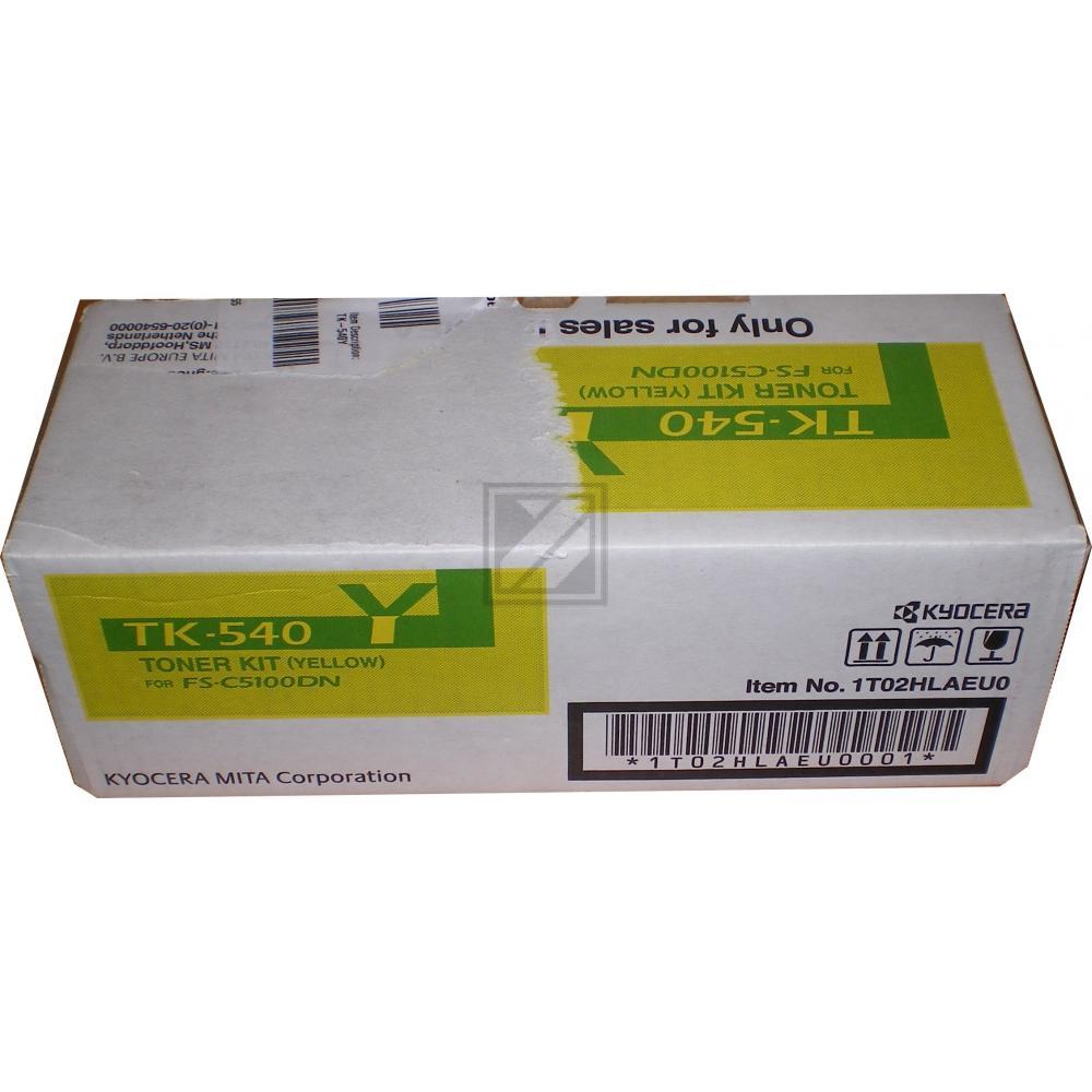 BUSINESS TK540Y   4000 Seiten, BUSINESS Tonerkassette, gelb
