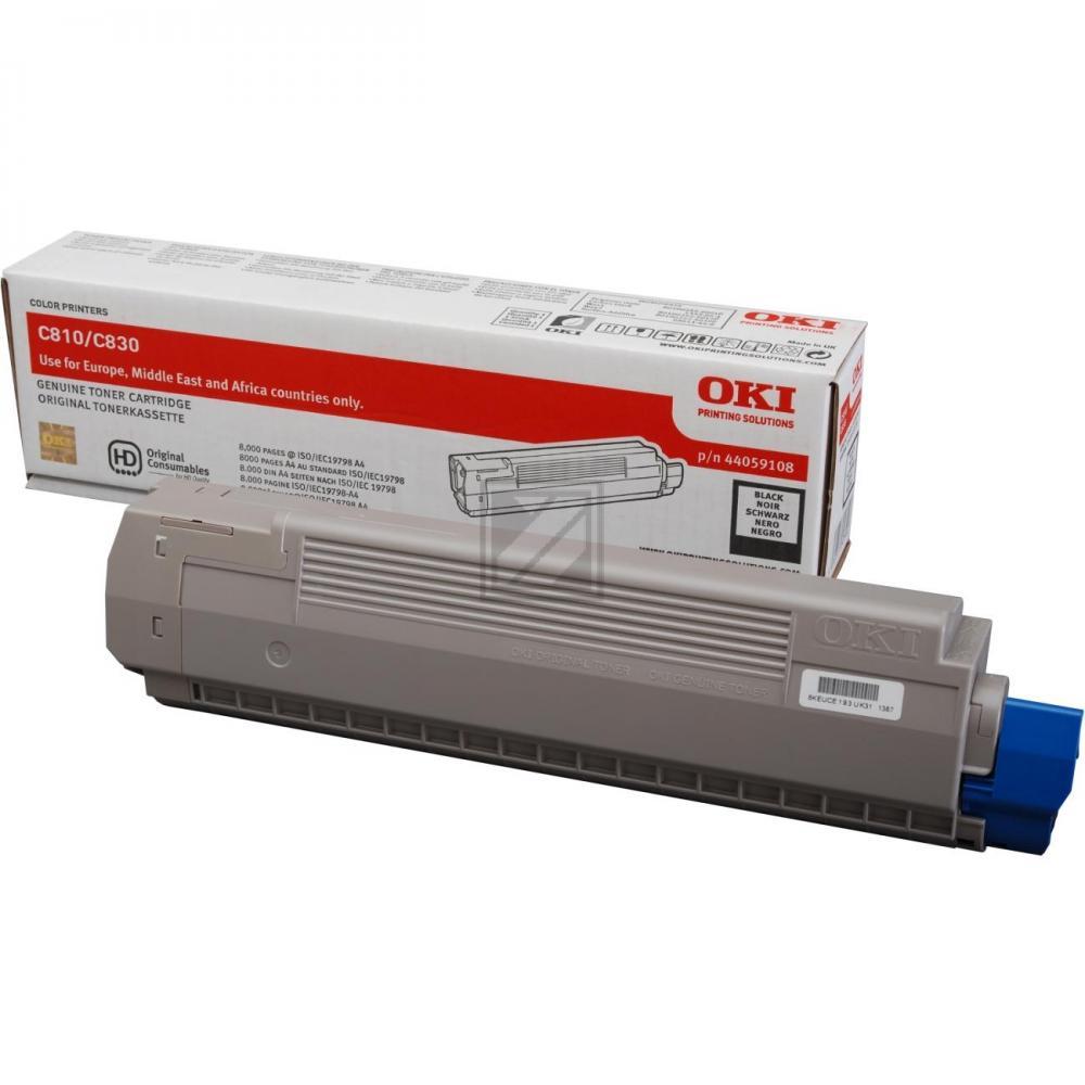 OKI Toner-Kit schwarz (44059108)