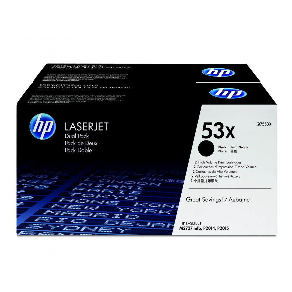 HP 53X | Combopack 2er Set, HP Tonerkassette, schwarz
