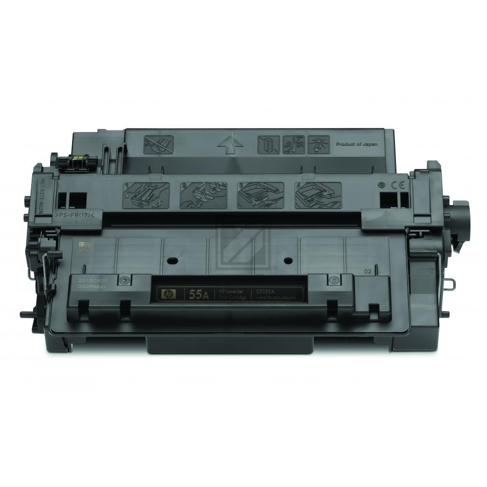 HP 55A | 6000 Seiten, HP Tonerkassette, schwarz