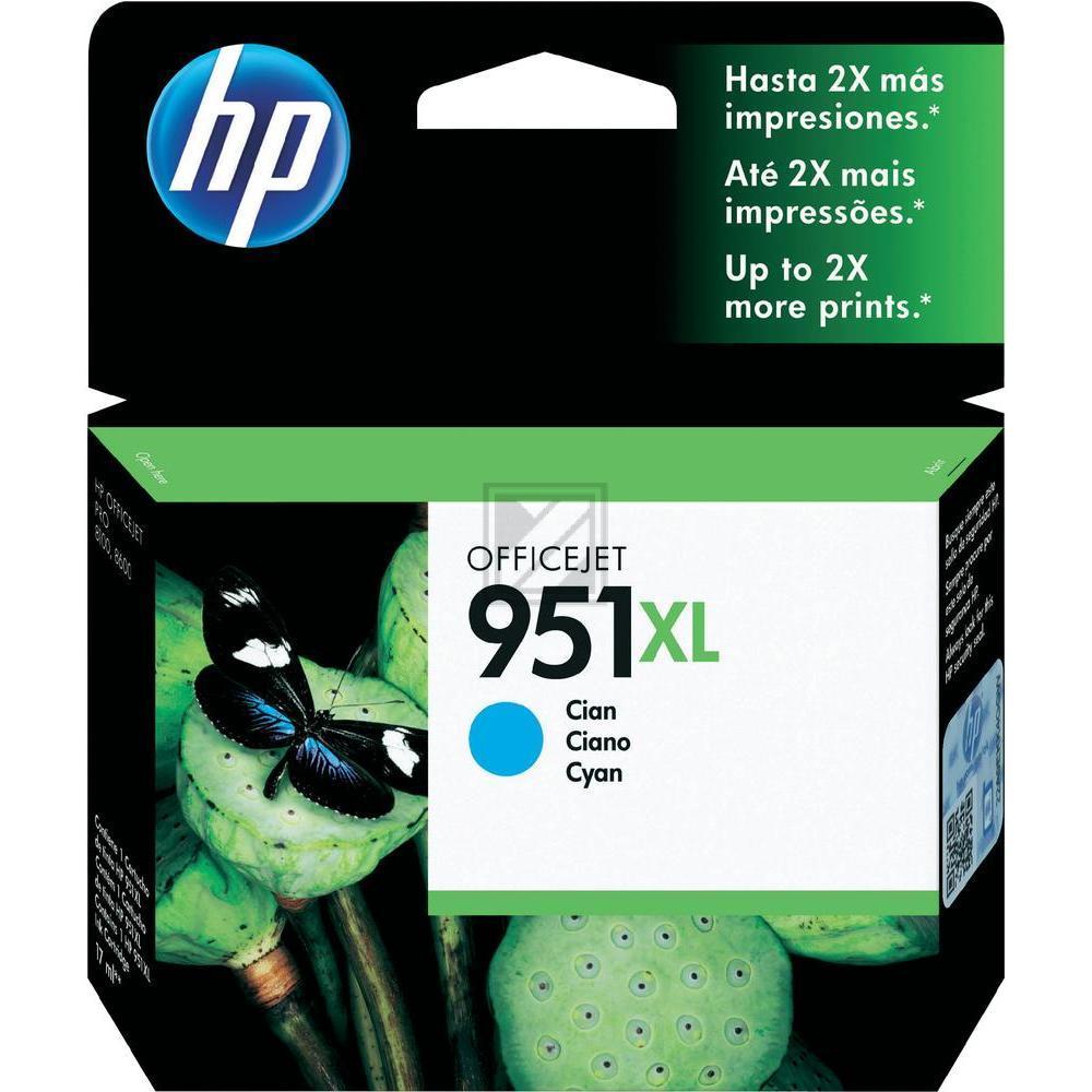HP CN046AE 951XL CYAN