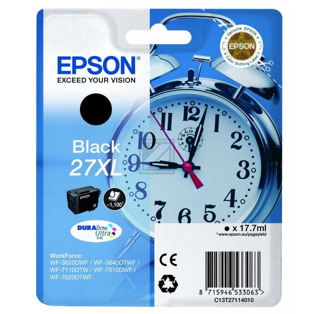 EPSON C13T27114012/T27114010 schwarz 27XL