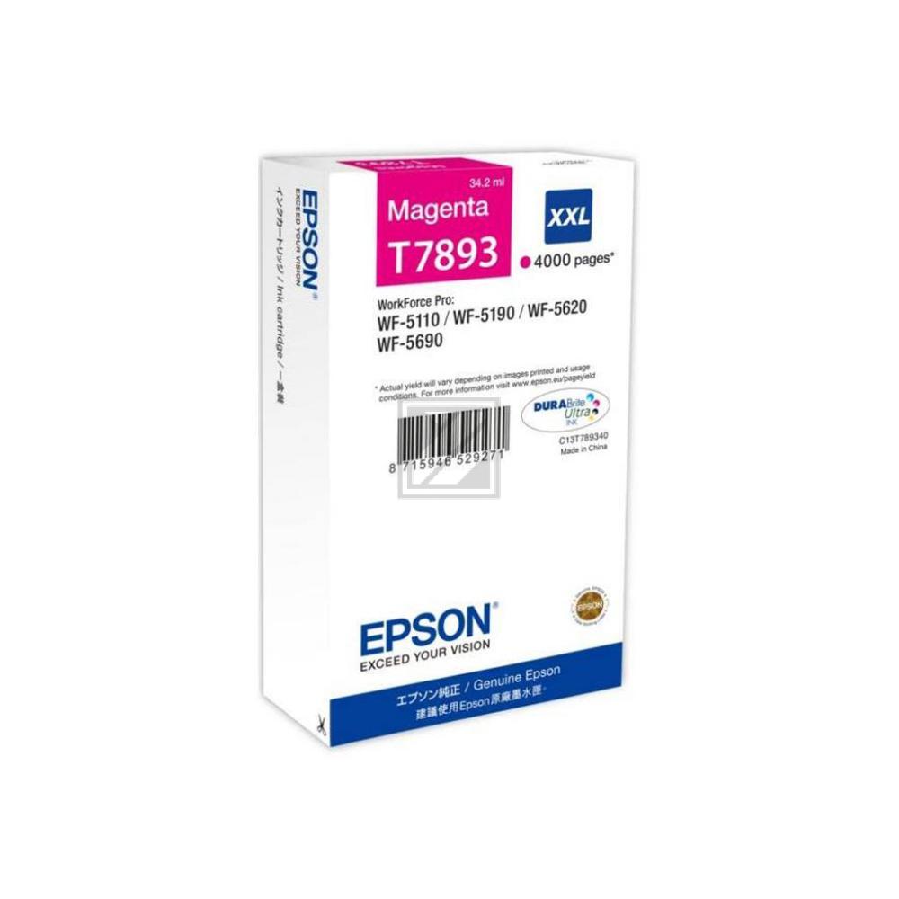 Epson C13T789340 / T7893 Tinte Magenta