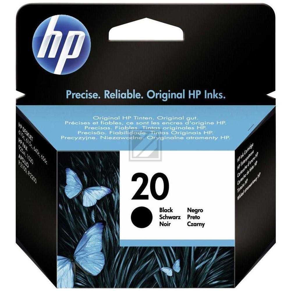 HP C6614DE Black
