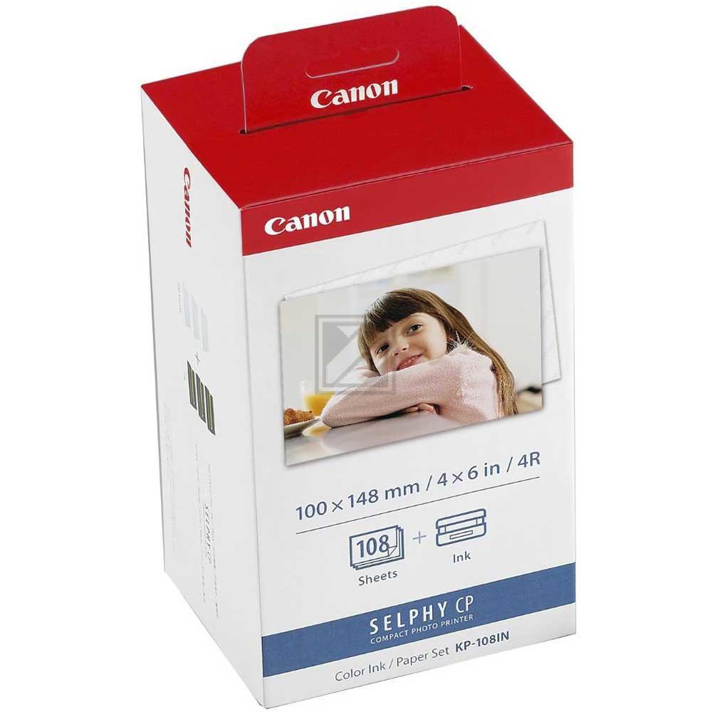Canon Tintenpatrone mit Photopapier im Multipack/K