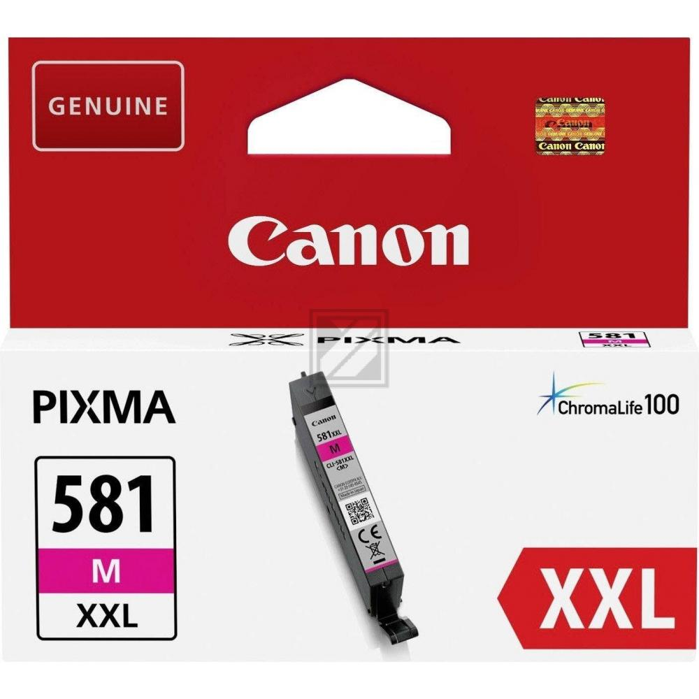 Canon Tintenpatrone magenta HC plus (1996C001, CLI-581MXXL)
