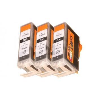 3 Compatible Ink Cartridges to Canon PGI-5 / CLI-8  (BK)