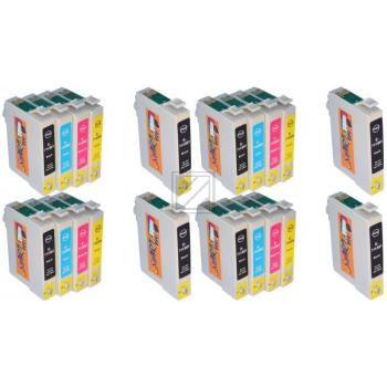 20 Compatible Ink Cartridges to Epson T0711 - T0714  (BK, C, M, Y)