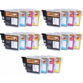 20 Compatible Ink Cartridges to Brother LC985  (BK, C, M, Y)