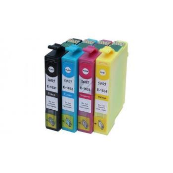 4 Compatible Ink Cartridges to Epson T1631 - T1634  (BK, C, M, Y)