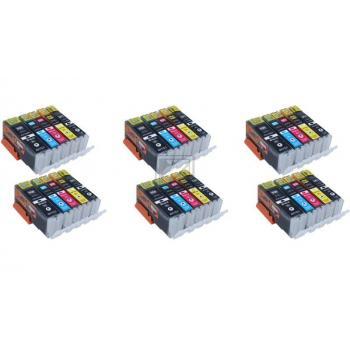 30 Compatible Ink Cartridges to Canon PGI-550 / CLI-551  (BK, PHBK, C, M, Y) XL