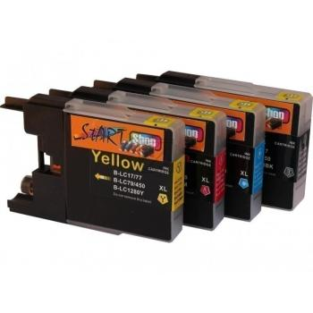 4 Compatible Ink Cartridges to Brother LC1280  (BK, C, M, Y)