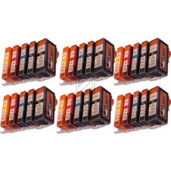 30 Compatible Ink Cartridges to Canon PGI-525 / CLI-526  (BK, PHBK, C, M, Y)