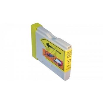 Compatible Ink Cartridge to Brother LC970 / LC1000  (Y)