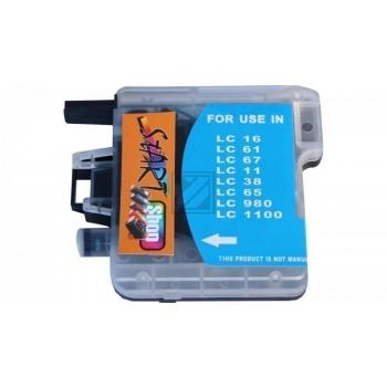 Compatible Ink Cartridge to Brother LC980 / LC1100  (C)