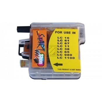 Compatible Ink Cartridge to Brother LC980 / LC1100  (Y)