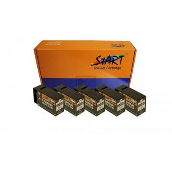 5 Compatible Ink Cartridges to Canon PGI-1500 (XL)  (BK)